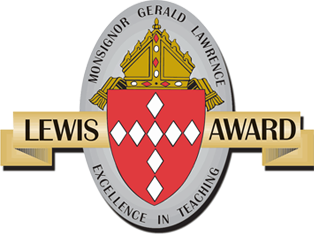 The Lewis Award: Excellence In Teaching